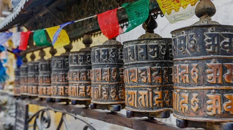 Nepal Prayer wheel