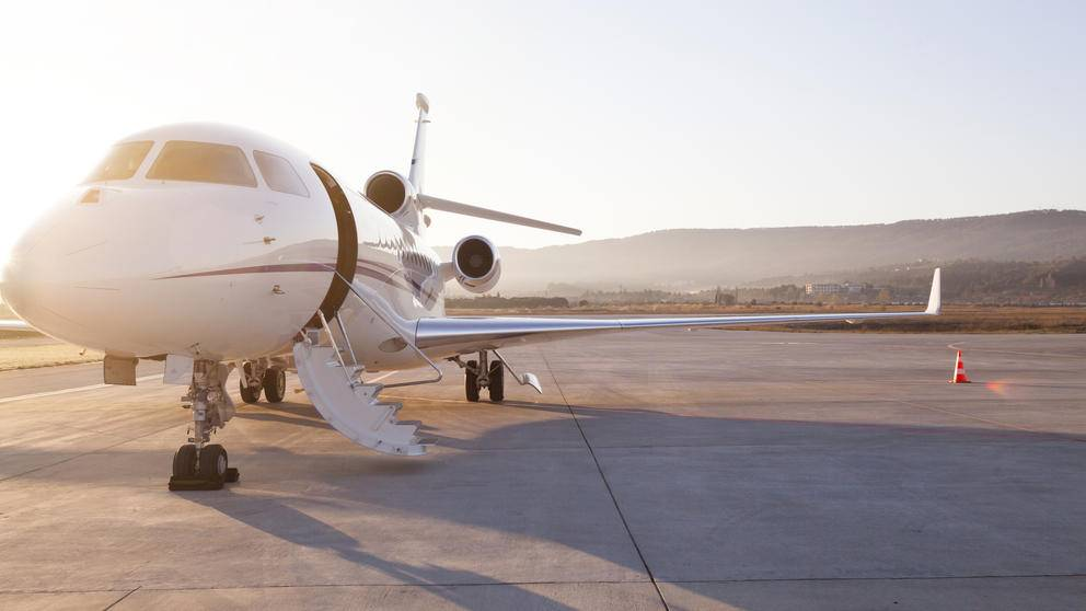 Small private jet custom travel