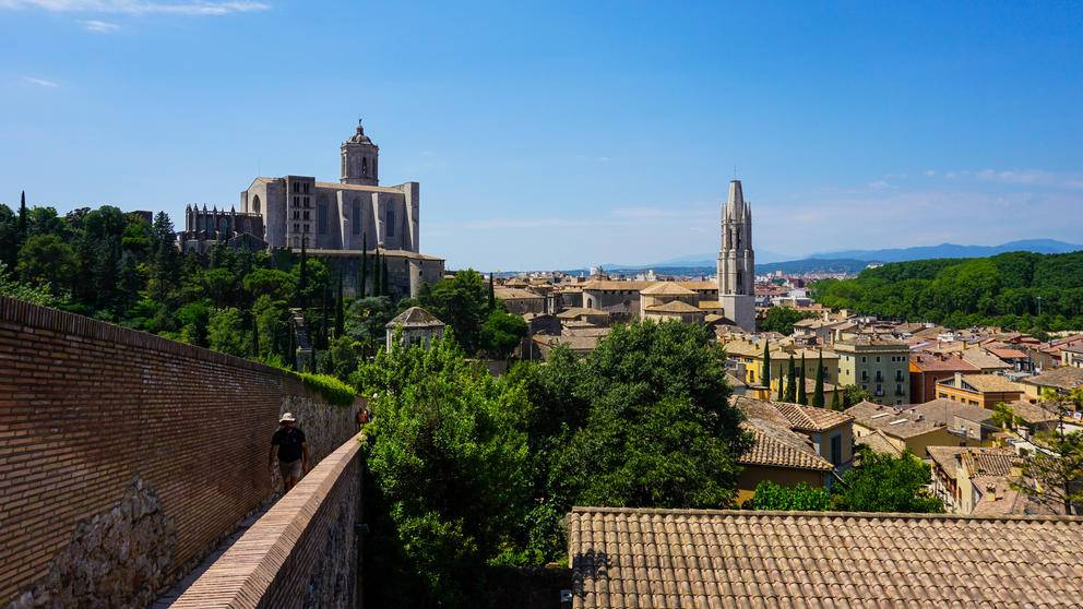Catalonia Spain Girona City