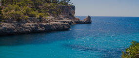 Mallorca Spain Coastal Landscape Hero UNMED3-19