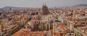 Barcelona Spain City Landscape Hero UNMED3-19